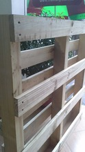 Low price High quality Acacia/Rubber/Pine wooden pallet for sale