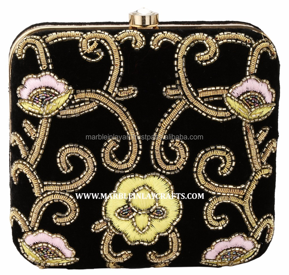 Indian Embroidered women Clutch Purse