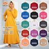 dress islamic clothing wholesale - Plain Gamis
