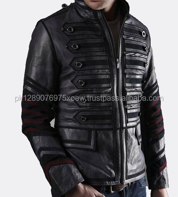 motorcycle fashion wear leather jacket, oem design stylish motor bike leather jackets