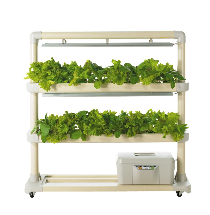 Led hydroponic cultivator new trend indoor gardening for Indoor gardening trends