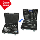 Ferramentas Quinnco Hot Sales 142-PC AutoSocket Wrench