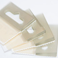 Sticky Hang Tabs Book Plastic Clear Self Adhesive Hanging Tab Hook/Slot
