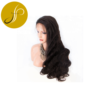Pearlcoin High Grade Long Length Remy Virgin Human Hair Natural Color Body Wave Full Lace Wig 150% Wholesale