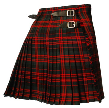 New MacDonald Tartan kilt 8 Yard Casual Mens Kilt
