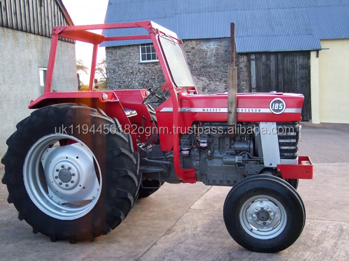 Massey Ferguson MF-185 MF165 Multi-Power Trailer Tractor 2wd