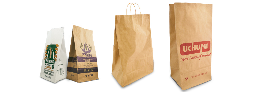 Multiwall bags are increasingly being used in the fast food, supermarket and heavy retail product outlets.
