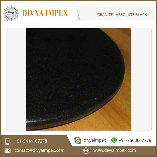 Cut to Size High Quality Absolute Black Granite Supplier