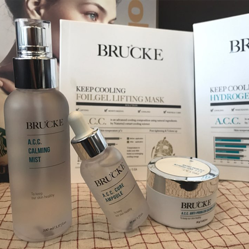 Brucke Keep Cooling Hydrogel Soothing Mask, Face Mask, Full face snorkel mask, Face mask beauty, Beauty face mask, Korean face