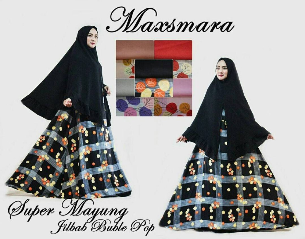 Beautiful Maxsmara Maxi Dress - Ready wear Hijab