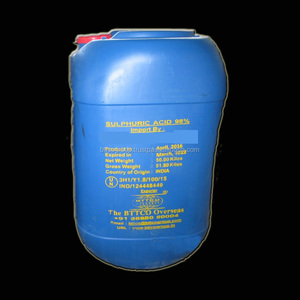 High Quality Sulfuric Acid 98% minimum D&B certified Supplier