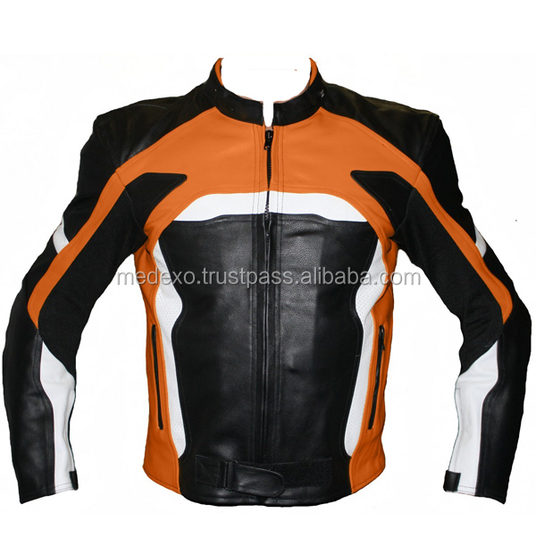 Leather Motorbike Jackets Motorcycle Biker Coat MI_J 116 Leather Fashion Garments