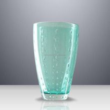 Wholesale special price / Water glass cub handmade patterned drinking tumbler glass in thailand