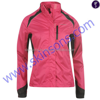 Red Winter clothes women beautiful parka jacket