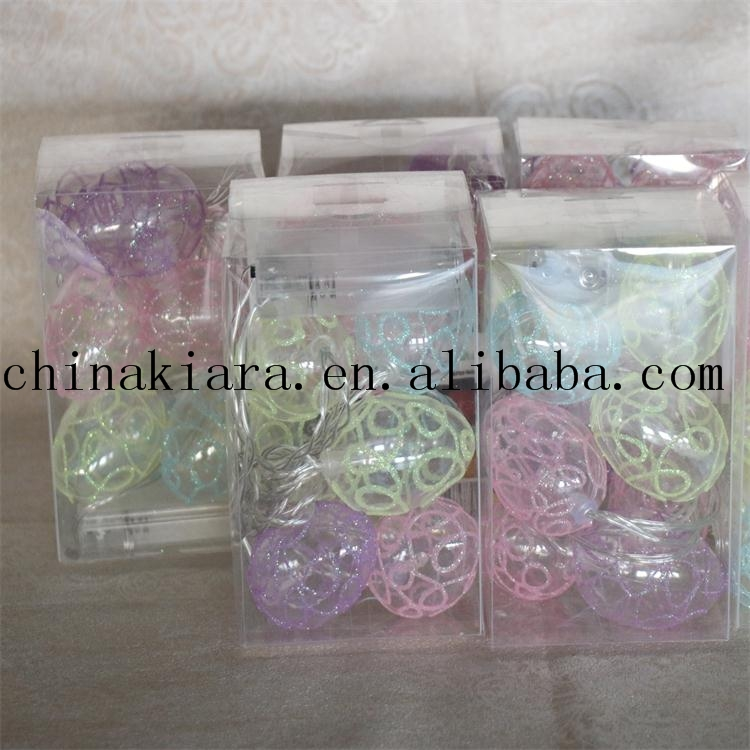 High Quality 10L Easter Egg String Lights