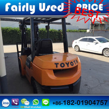 Low price used Toyota forklift of used FD30 toyota forklift 3ton