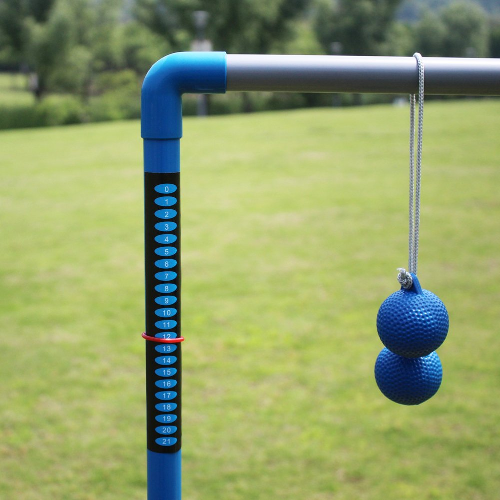 Wholesale Adjustable plastic golf games toss ladder ball for kids and adults
