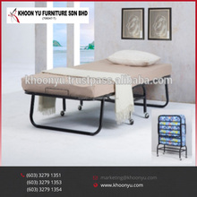Best Price of Folding Bed single metal folding bed Room malaysia Furniture manufacturing