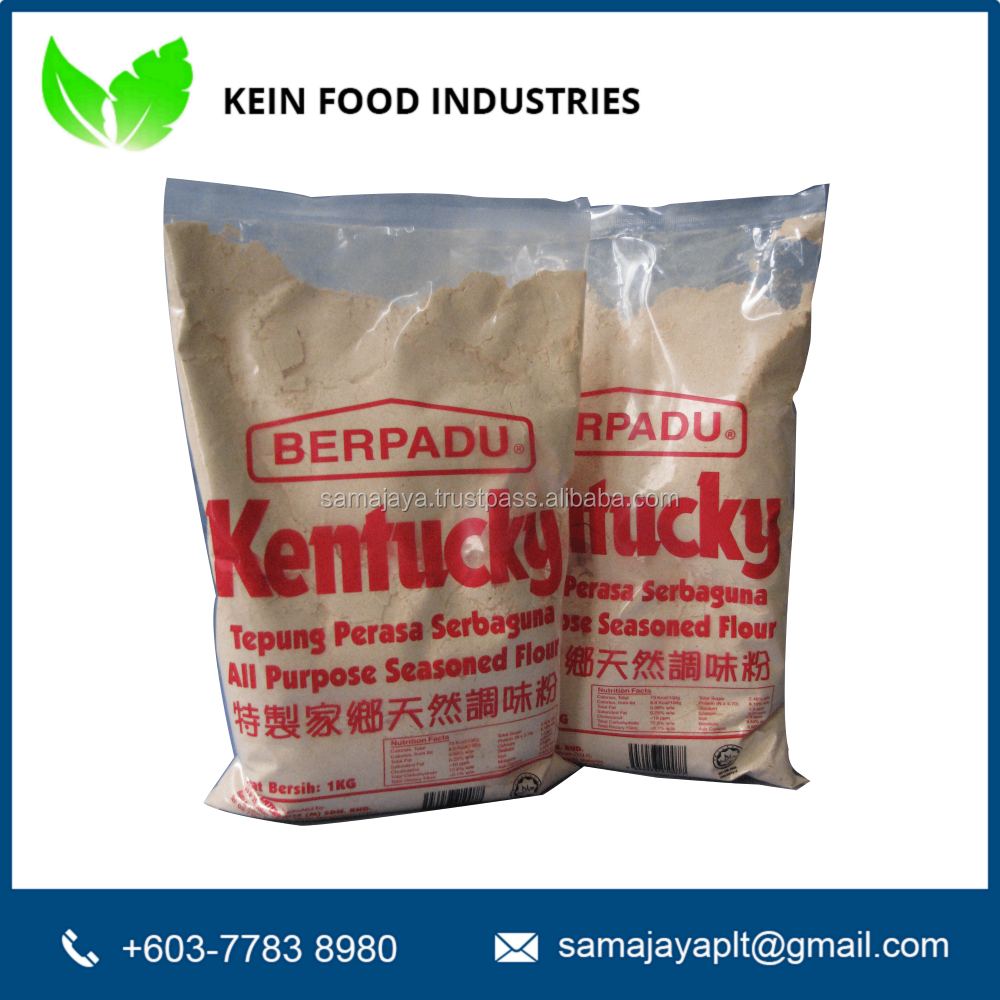 Berpadu Spicy Halal Kentucky Fried Chicken Flour Mix, 1kg