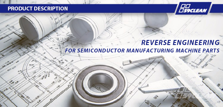 Reverse Engineering Semiconductor Machinery Part 0041-52773 R1 Ribs Right