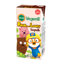 Korea No.1 Soy Milk since 1973, Vegemil, Pororo, Soymilk for Kids, Healthy Beverage, Chocolate Flavor, Meal Supplement, HACCP