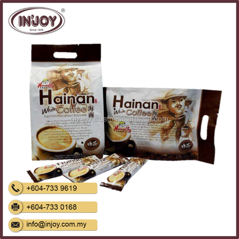 Original Hainan Lao 3 in 1 Instant Penang White Coffee From Malaysia