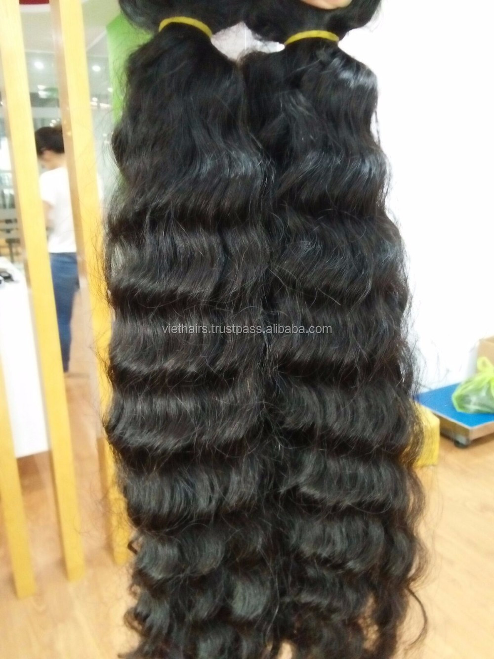 Hot trend textures natural wave hair Cambodian human extensions hair so nice