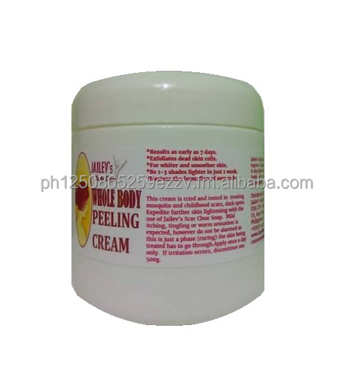 Jailev's Whitening Body Peeling Cream 500g