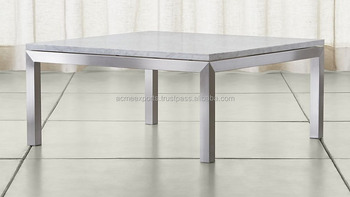 Contemporary Metal Table Stainless Steel Coffee Side Table | Stainless Steel High Quality Polish bed Side Tables