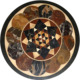Marble Coffee Table Top Marquetry Inlay