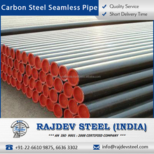 ISO Certified Carbon Steel Seamless Pipes for Fabrication, Construction Industry
