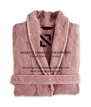 Manufacturer 100% Egyptian Cotton Fabric Bathrobe For Hot Sale