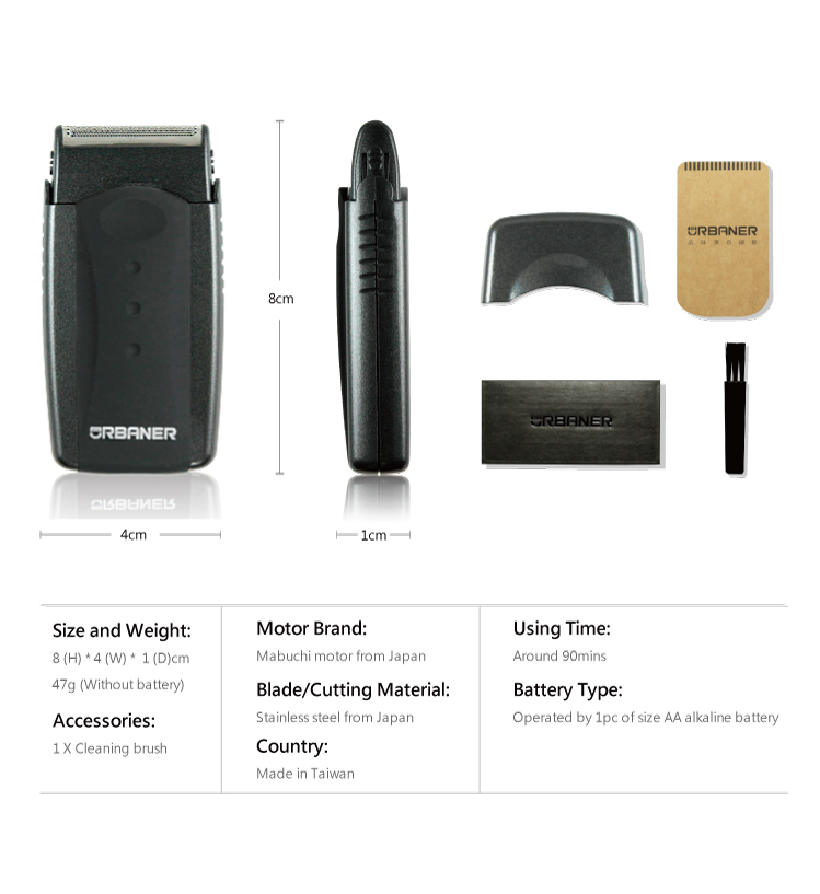 Small Quantity SALE Electric Battery Men Shaver Razor Machine For Sample Order