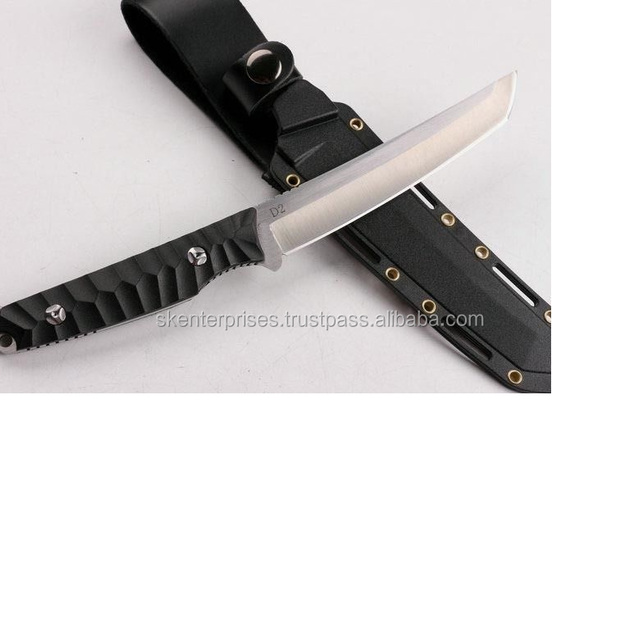 Hand Made Stainless Steel Custom Hunting Knife with Micarta Sheath SK-562