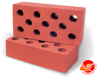 Light Weight Building Materials Used Red Clay Bricks Hollow Red Clay Bricks