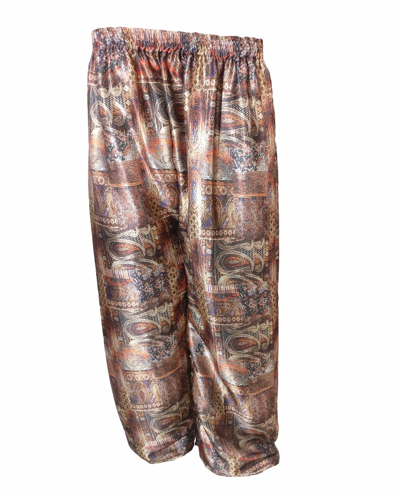 Indian Ethnic Printed Palazzo Pants / Fashinable Digital Printed Travelling Wear Trousers (beach wear palazzo trousers pant)