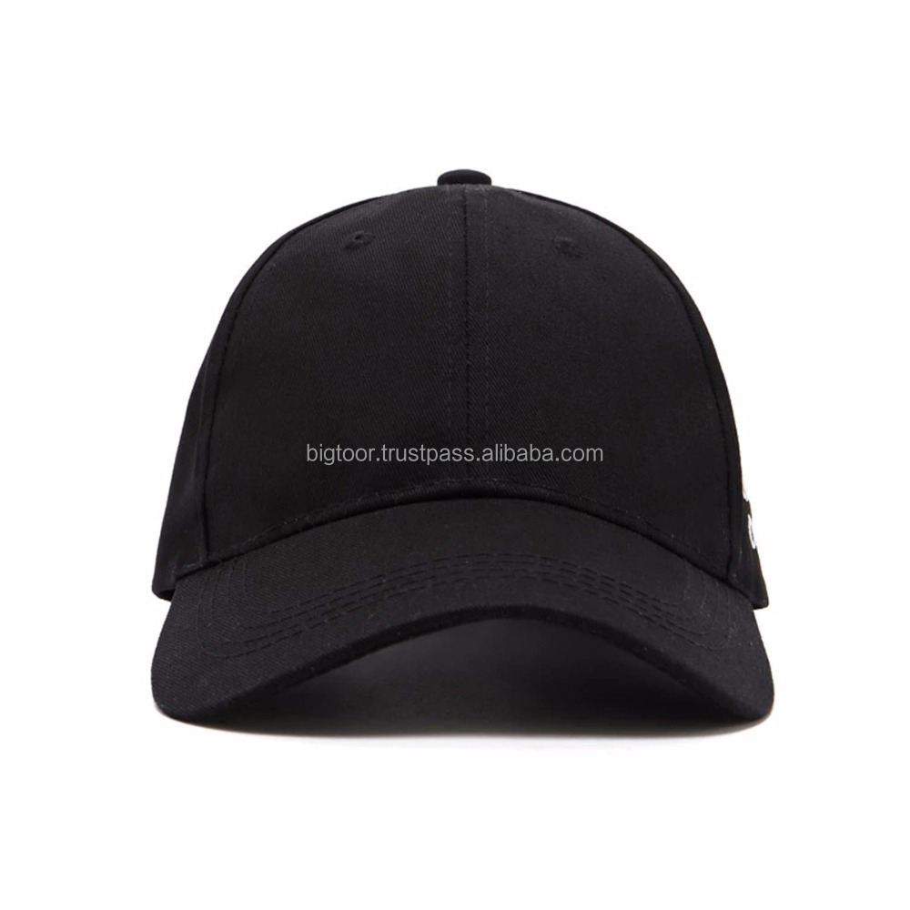 Embroidered Baseball Cap With Adjustable Plastic Side Release Buckle Back Closure