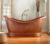 Free standing Copper Bath Tub in Antique Hand Made Copper Bath Tub with 100% Pure Copper Bath Tub