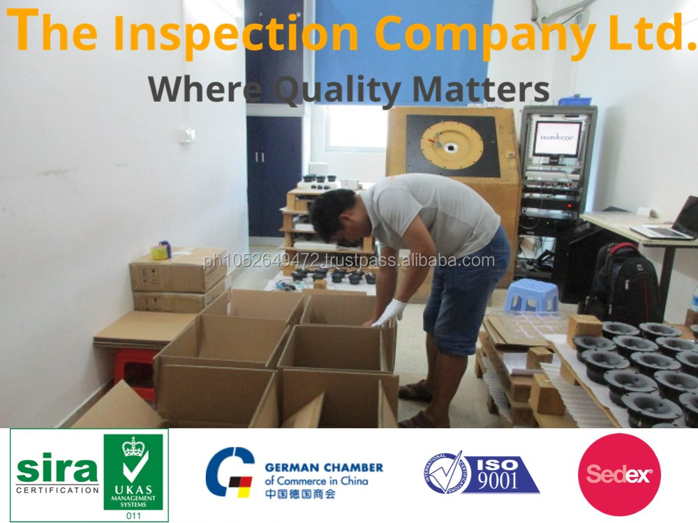 Speaker for Third Party Inspection in China / Quality Control Services