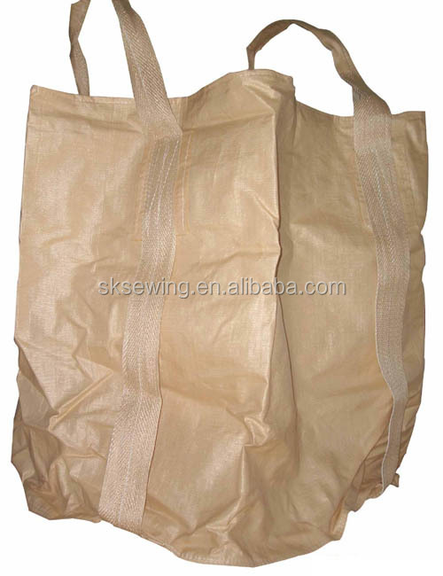 Heavy duty jumbo bag FIBC container sack bags computerized pattern sewing machine