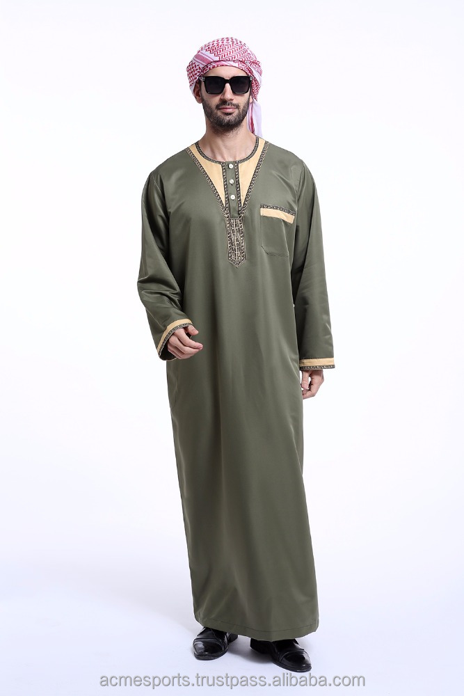 Thobes - Men's Thobe's ,Saudi Daffah Thobes Arabian Robes of Muslim clothing