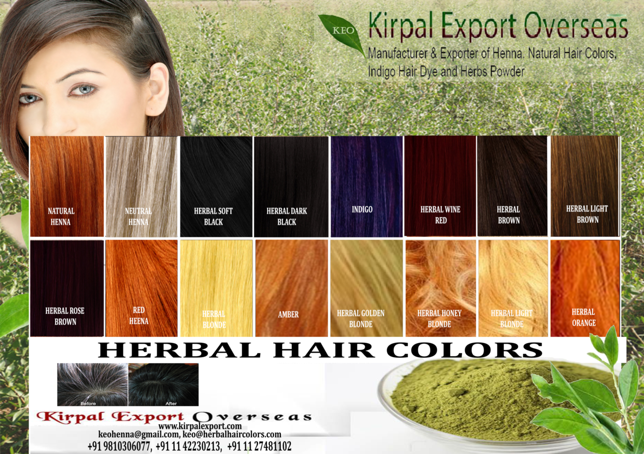 Manufacturer Exporter of Certified Halal Herbal Hair Color Natural Henna Powder