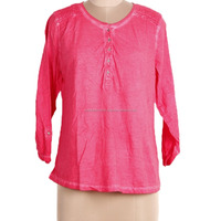 D47507a 2016 Ladies Long Sleeve Solid