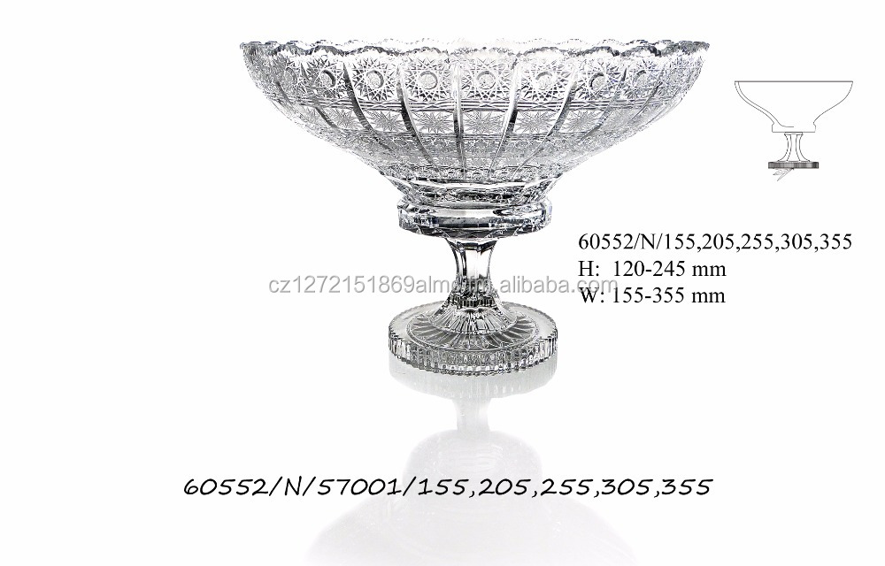 Bohemia 2017 new design CRYSTAL BOWLS standard design two