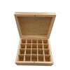 Customized aromatherapy essential oils wood box