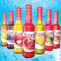 Fruit Drink Juice Sparkling Glass bottle 275ml Fizzy