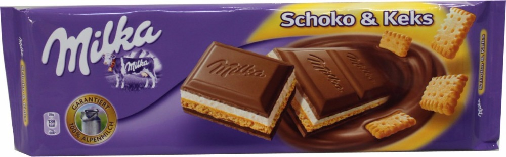 Milka Chocolate + Biscuit 300g