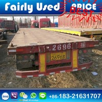 Low Price Used 3 Alxes 40ft
