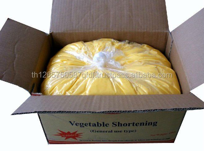palm oil shortening/ Vegetable Palm Shortening 15kg 25kg carton