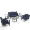 All Weather outdoor garden furniture 7 pieces